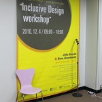 Korea 2010 Busan Banner 150x150 Inclusive Design Workshop Impressions   Design Center Busan