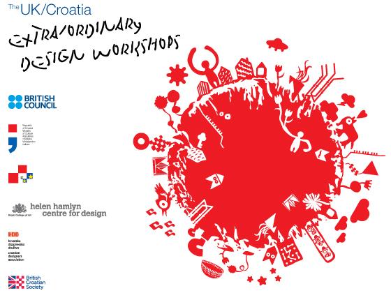 UK-Croatia Extra Ordinary Design Workshops Exhibition
